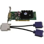 Jaton VIDEO-348PCI-LP Geforce 6200 GDDR2 Video Card