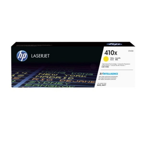 HP CF412XC (410X) Toner yellow, 5K pages