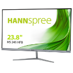 "Hannspree HS245HFB - 23.8"" FHD Super-slim monitor, HDMI, metal stand, 3H hard coated"