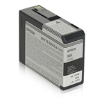 Epson C13T580800 (T5808) Ink cartridge black matt, 80ml