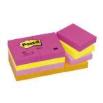 Post-It 653TF self-adhesive label Multicolour 12 pc(s)