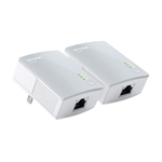 TP-LINK AV500 500Mbit/s Ethernet Blanco 2pieza(s) adaptador de red PowerLine dir