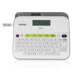 Brother PTD400AD label printer Thermal transfer 180 x 180 DPI TZe QWERTY