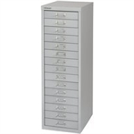 Bisley FF BISLEY 15 NON-LOCK MULTIDRAWER GREY