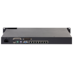 APC KVM0108A KVM switch Rack mounting Black