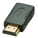Lindy 41208 cable gender changer HDMI HDMI Mini Black