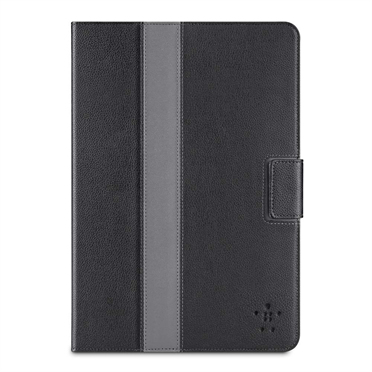 Belkin Striped Cover with stand  Auto-wake and Y frame for iPad Mini in Blacktop