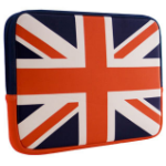 Urban Factory Apple iPad Air Neopren Series UK Flag Sleeve Cover Case - Multi - (FLG60UF)