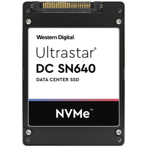 "Western Digital Ultrastar DC SN640 2.5"" 6400 GB PCI Express 3.1 3D TLC NVMe"