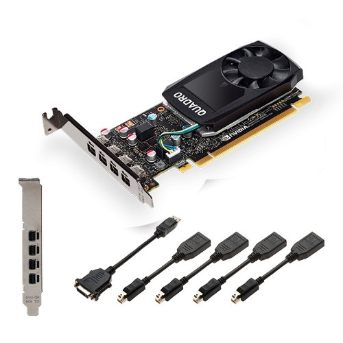PNY VCQP1000V2-PB graphics card NVIDIA Quadro P1000 V2 4 GB GDDR5