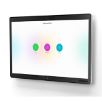 "Cisco Webex Board 55S interactive whiteboard 139.7 cm (55"") Touchscreen Black"