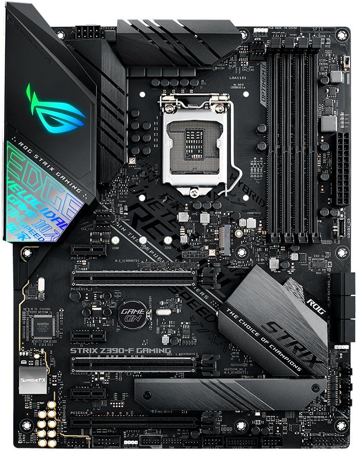 ASUS ROG STRIX Z390-F GAMING motherboard LGA 1151 (Socket H4) ATX Intel Z390