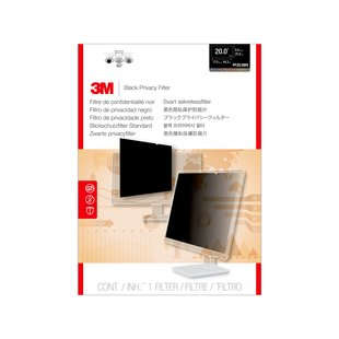 "3M PF200W9B 20"" Monitor Frameless display privacy filter"