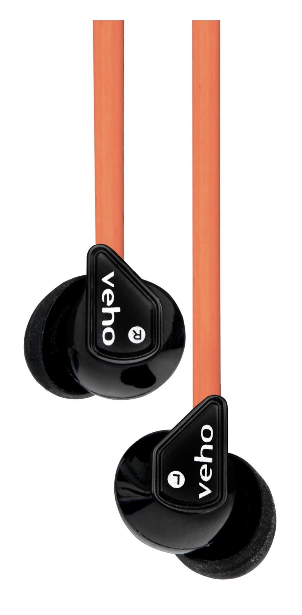 Veho Z-1 Black, Orange Intraaural In-ear headphone