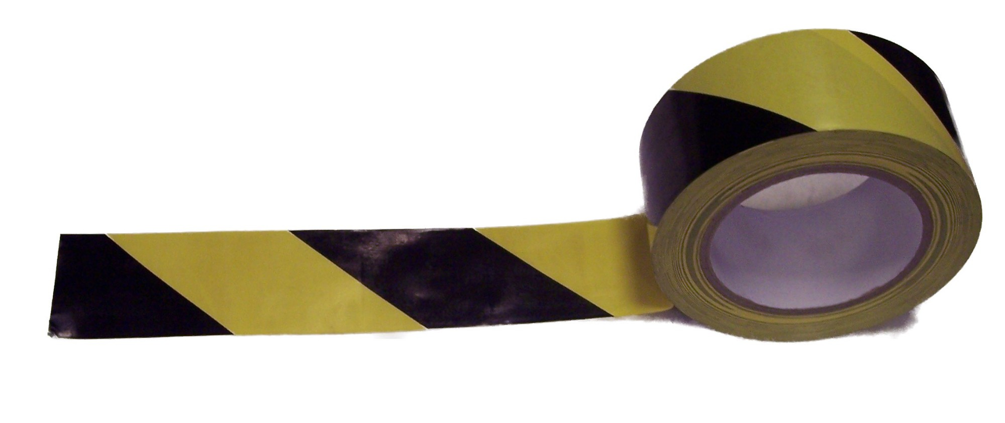 Robinson Young Value Lane Marking Tape 50mmx33m Black/Yellow