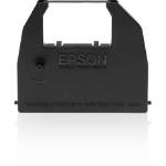 Epson SIDM Black Ribbon Cartridge for LX-86/80/GX-80 (C13S015053) printer ribbon