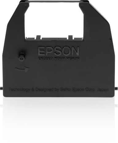 Epson SIDM Black Ribbon Cartridge for LX-86/80/GX-80 (C13S015053) printer ribbon