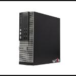 T1A DELL Optiplex 7010 Refurbished i5-3470 SFF 3rd gen Intel® Core™ i5 4 GB DDR3-SDRAM 128 GB SSD Windows 10 Pro PC Black, Silver