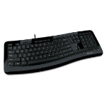 Microsoft Comfort Curve Keyboard 3000 USB Black keyboard