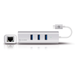 ALOGIC USB-C to Gigabit Ethernet & 3 Port USB Hub -Prime Series