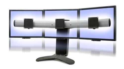 Ergotron LX Series Triple Display Lift Stand 53.3 cm (21