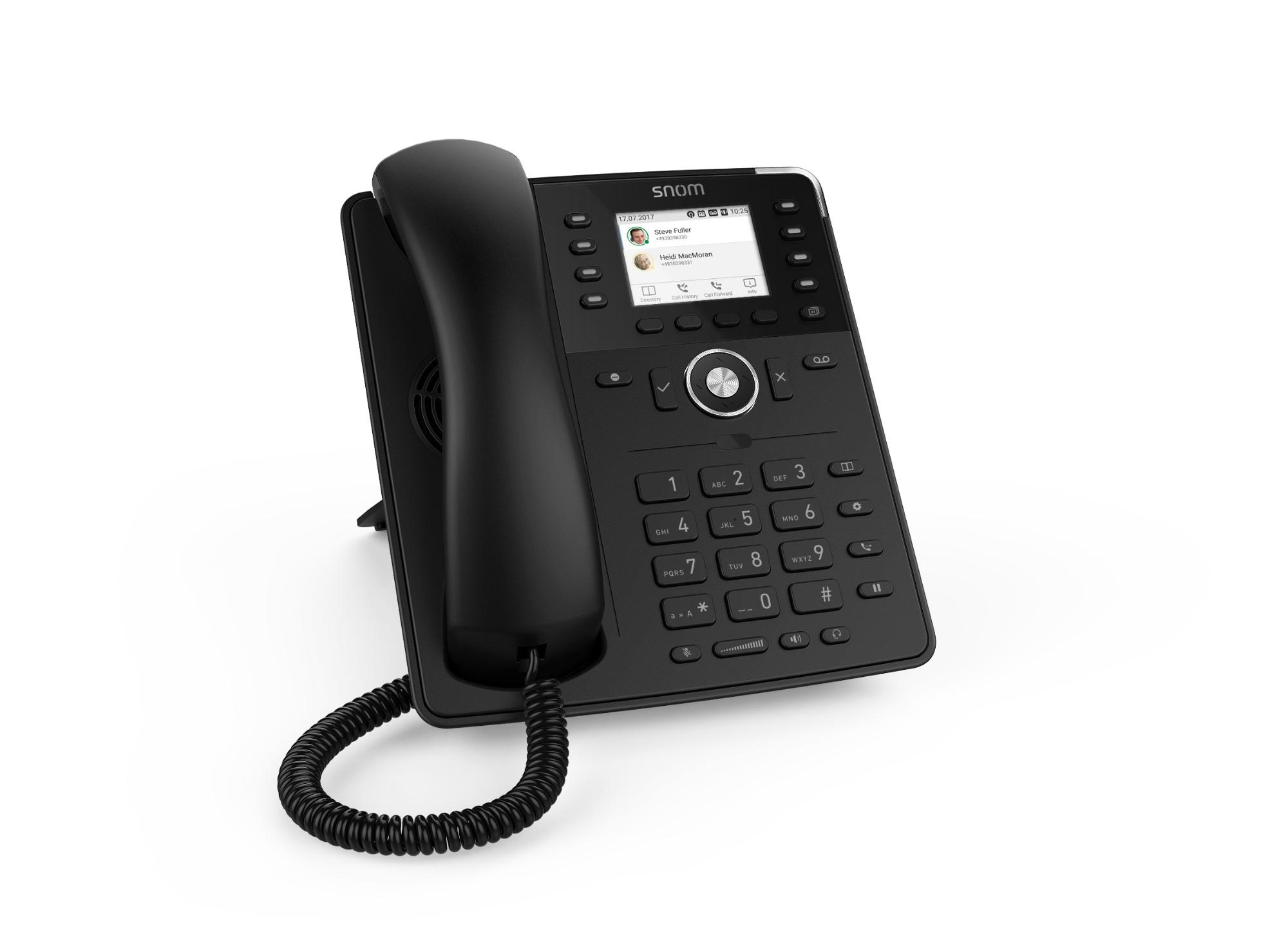 Snom D735 IP phone Black TFT