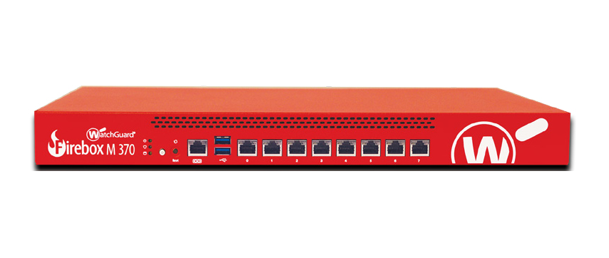 WatchGuard Firebox M370 1U 8000Mbit/s hardware firewall
