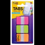 3M 686-PGO tab index Blank tab index Green, Orange, Pink