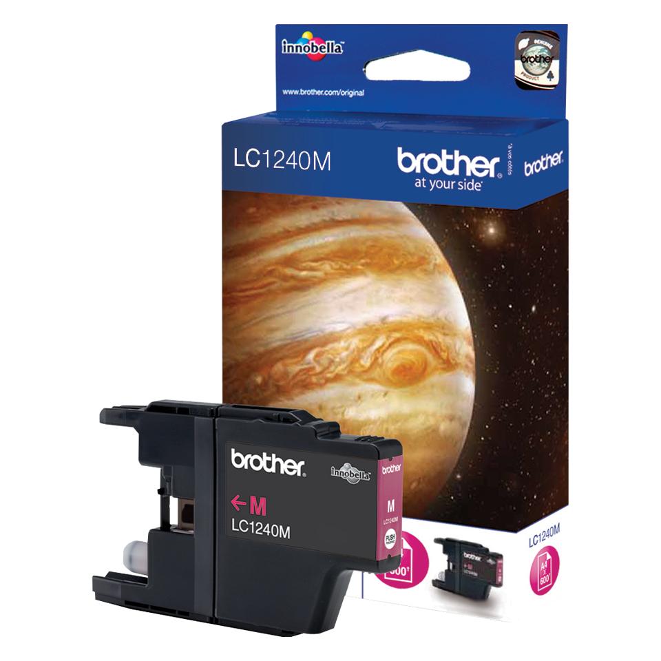 Brother LC-1240M inktcartridge Origineel magenta 1 stuk(s)