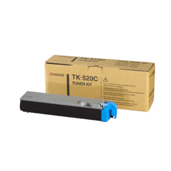 KYOCERA 1T02HJCEU0 (TK-520 C) Toner cyan, 4K pages @ 5% coverage