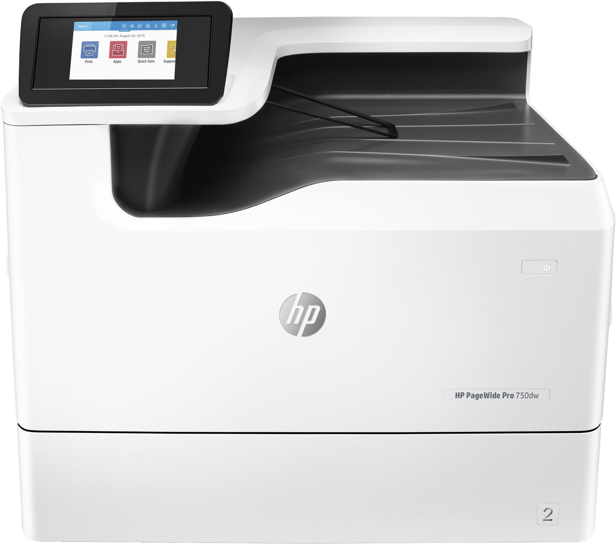 HP PageWide Pro 750dw Colour 2400 x 1200 DPI A3 Wi-Fi