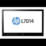 HP L7014 Black, Silver