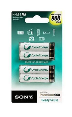 Sony NI-MH, AAA, 900 mAh Nickel Metal Hydride 900mAh 1.5V