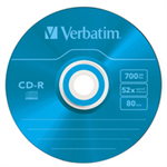 Verbatim CD-R AZO Colours CD-R 700MB 10pc(s)