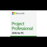 Microsoft Project Professional 2016, 1u