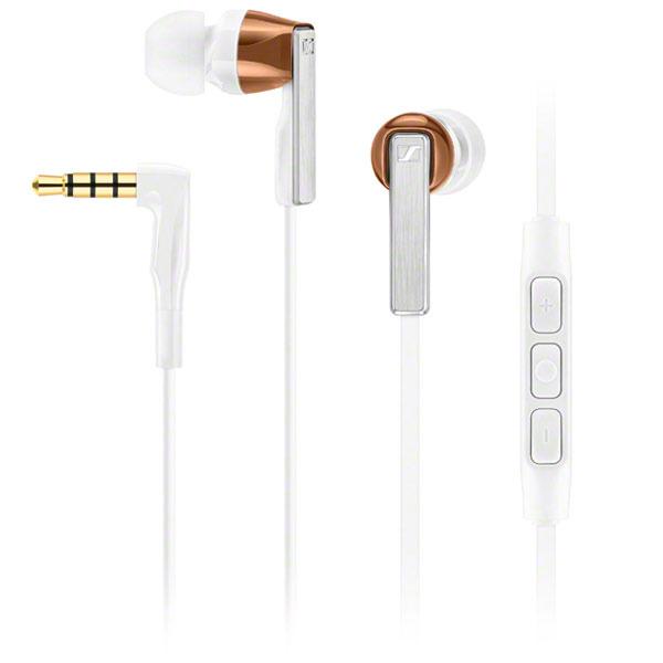 Sennheiser CX 5.00i auriculares para móvil Binaural Dentro de oído Blanco