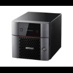 Buffalo TeraStation 3220DN Ethernet LAN Desktop Zwart NAS