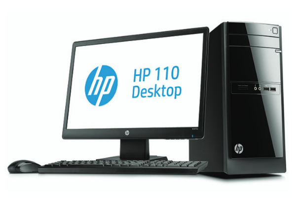 HP 110 -525nam Desktop Bundle
