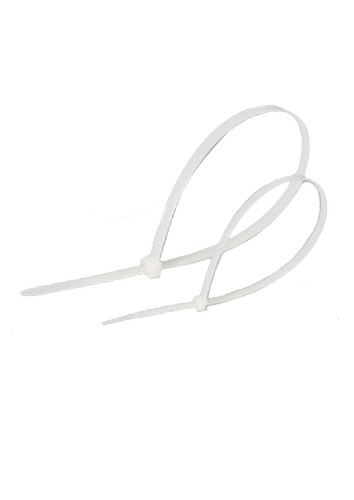 Lanview LVT551040 cable tie Tear-off cable tie Nylon White 100 pc(s)