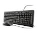 Trust TKM-250 teclado USB Español Negro