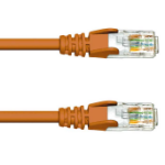FDL 2M CAT.6 UTP PATCH CABLE - BROWN
