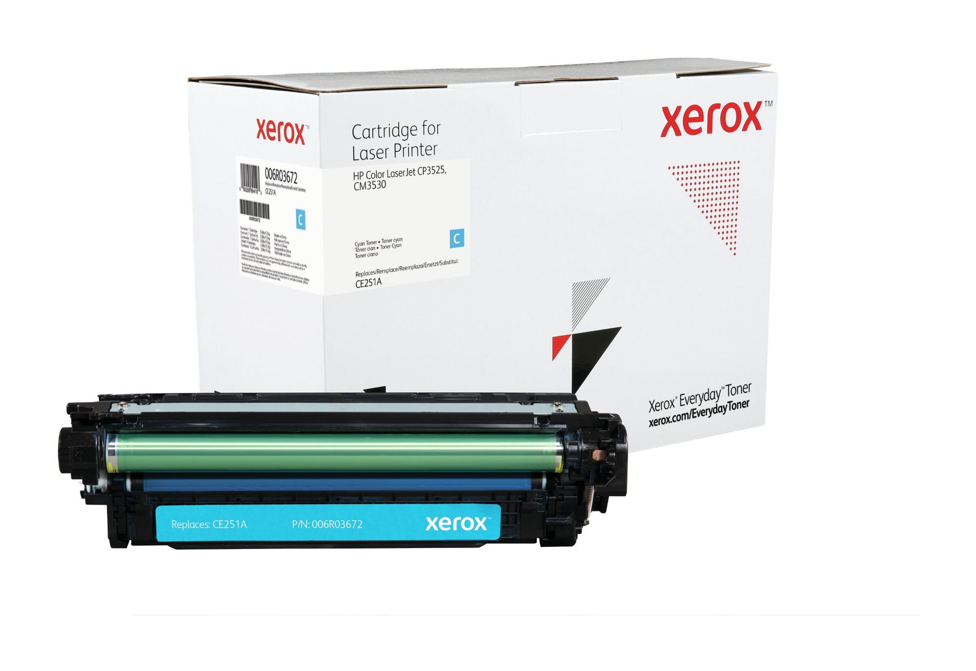 Xerox Tóner Cian Everyday, HP CE251A equivalente de , 7000 páginas