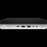 HP 600 ProDesk G5 DM, i5-9500T, 8GB, 512GB SSD, WLAN, W10P64, 3-3-3
