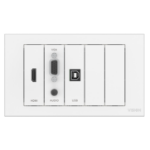 Vision TC3-PK socket-outlet White