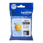 Brother LC-3211BK Ink cartridge black, 200 pages