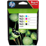 HP 3YP35AE (963XL) Ink cartridge multi pack, 2000pg + 3x1600pg, Pack qty 4