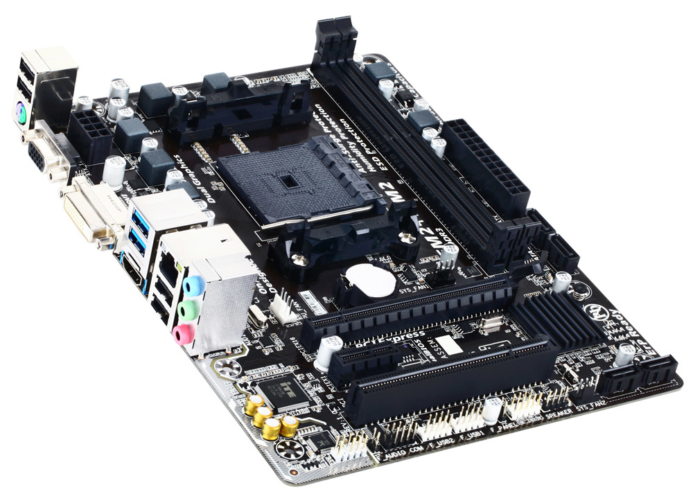 Gigabyte GA-F2A68HM-HD2 AMD A68H Socket FM2+ Micro ATX motherboard
