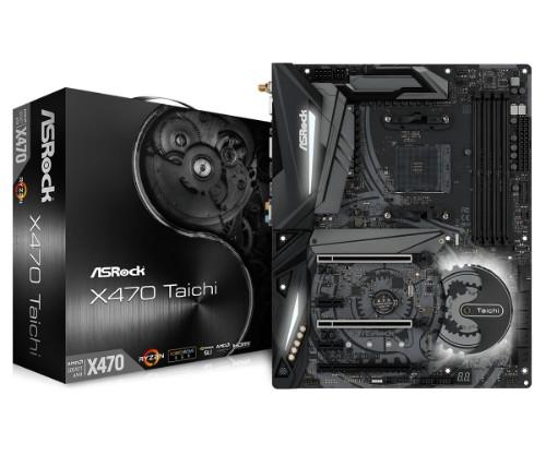 Asrock X470 Taichi motherboard Socket AM4 ATX AMD Promontory X470