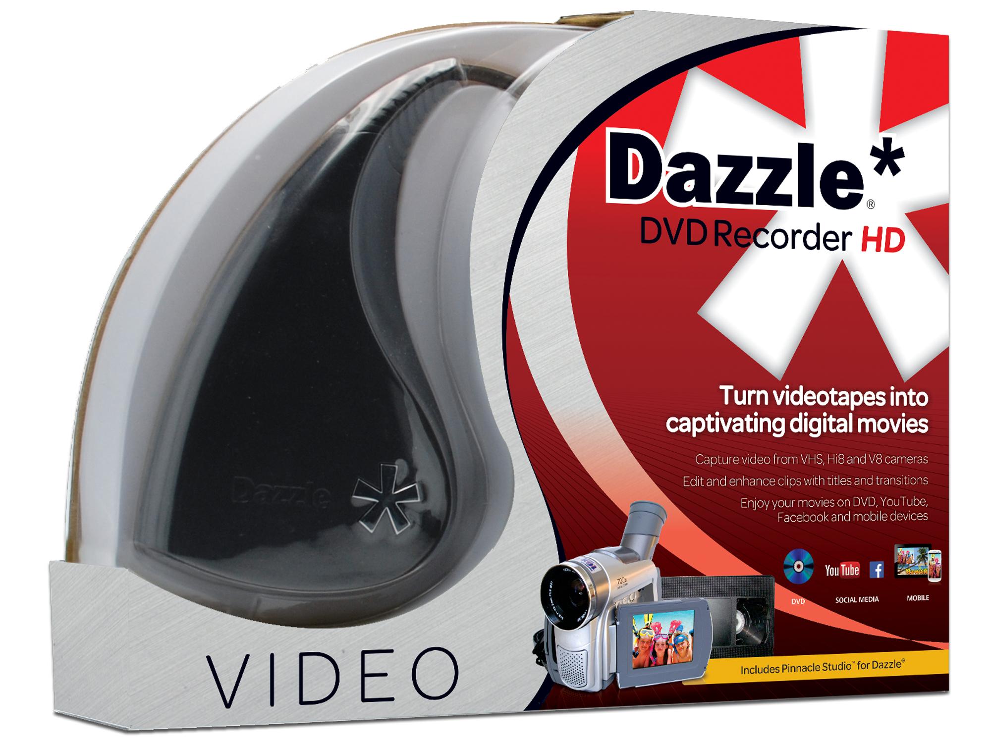 Corel Dazzle DVD Recorder HD video capture board Intern USB 2.0
