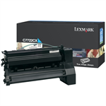 Lexmark C7722CX Toner cyan, 15K pages @ 5% coverage
